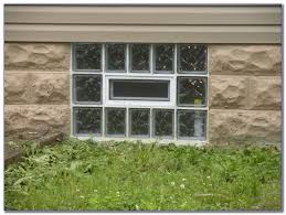 glass block basement windows can be put together with either silicone or mortar additionally you can even choose to get a fresh air vent