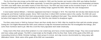 research paper on kkk to teach students the civil rights movement era include demographics as the kkk s colorado by iowa research by prolife andrewnorth american experience