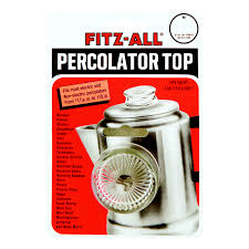 Cocoa / hot drink makers. Tops Glass Replacement Percolator Top Clear Ace Hardware