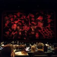 photo de minskoff theatre new york ny États unis view from