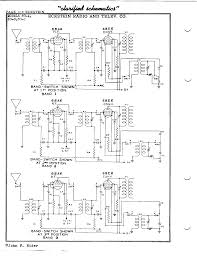Wiring diagram how to make resistor electronics transistor array eckstein radio and television co 80 a antique electronic supply rh tubesandmore