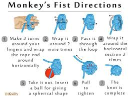 Make a monkeys fist