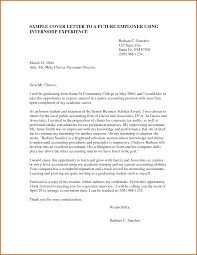 Resume Cover Letter For Accounting Position Resume For Your Job