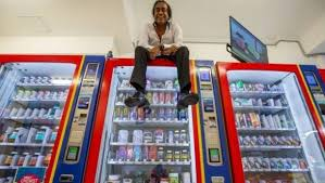 Vending Machine Business For Sale Nz Impressive Spotting A Slot In The Market Led To Australia's First Vending