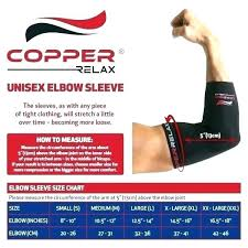 Elbow Sleeve Size Chart Tommie Copper Elbow Review Andrewhunter Co