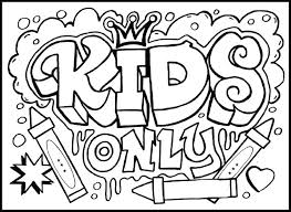 Kids Color Pages Kids Coloring Fun Fun Coloring Pages For Older Kids