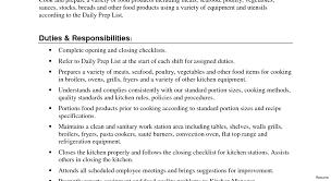 Prep Cook Resume E100 Restaurant Resume Skills Hostess Sample Cover Letter 50