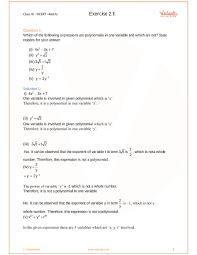 ncert solutions for class 9 maths chapter 2