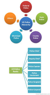 Law Enforcement Hierarchy Chart Us Police Hierarchy Chart Hierarchystructure Com