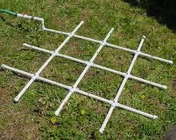 pvc watering grid grid