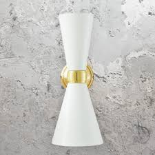 Double Cone Wall Light Cl 38796