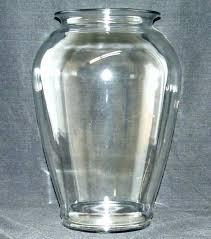 giant glass vase glass floor vase clear glass floor vase in clear glass flower vase giant