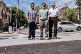 berkeley lab heat island group researchers pablo rosado from left ronnen levinson and mel pomerantz are shown credit marilyn chung berkeley lab