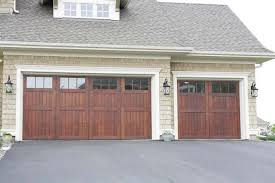 Wonderful Wood Double Garage Door Gallery 11 Intended Inspiration Throughout Simple Ideas