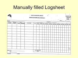 Reefer Container Temperature Chart Temperature Recording Systems Manually Filled Logsheet