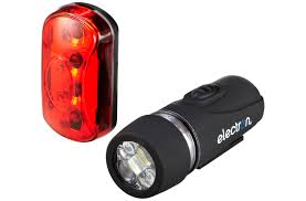 Electron Bicycle Lights Electron Nano 5 Front And Pico 4 Rear Light Set