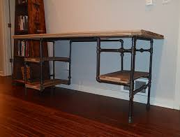 Assorted Iron Pipe Desk Google Search Iron Pipe Desk Google Search Black Iron  Pipe Shelves Black