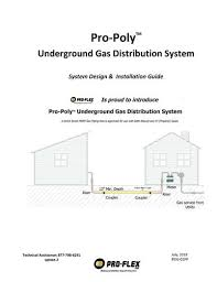 Pro Flex Gas Line Sizing Chart Pro Poly Installation Guide At Menards