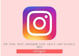 Top 2765 Best Instagram Bios Ideas August 2019 Boysgirls
