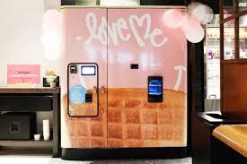 Soft Serve Vending Machine Impressive Taste Test VendingMachine Soft Serve At The Moxy Hotel