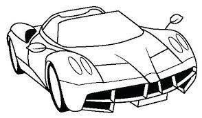 Ferrari 458 Spider Coloring Pages Colouring Italia Drawn Boy Free