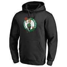 Celtics Number Boston Fanatics Black amp; Branded Backer Name Kyrie Hoodie Irving Pullover