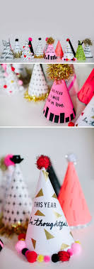 New Year's Resolution Hats // DIY Party Hats // walk in love.