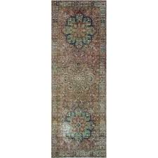 one of a kind raoul vintage hand knotted 4 5 x 12 4 wool brown area rug by isabelline isabelline