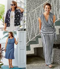 Plus Size Patterns Delectable Moody Blues 48 New Plus Size Sewing Patterns For Women Sewing