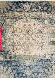 potter beige blue area rug