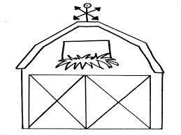 Barn Coloring Pages Coloringsuitecom