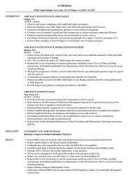 Uh Resume Sample Aircraft Maintenance Resume Samples Velvet Jobs 15
