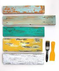 how to distress wood furniture 8