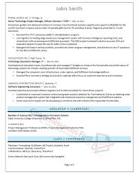 senior project manager resume sample page 2 of 2 engineering executive resume