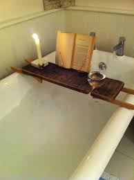 wood bathtub caddy do it yourself woodworking plans to build a within wood bath caddy decorating