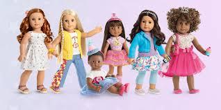 American Doll Size Chart American Girl Dolls For Girls American Girl
