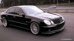 Mercedes Benz E55 AMG on 20