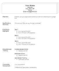 Simple Easy Resume Basic Resume Sample Format Resume Creator Simple Source