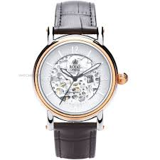 """skeleton watches men s ladies watches watch shop comâ""""¢ mens royal london westminster skeleton automatic watch 41150 04"""