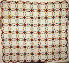 Double Wedding Ring Quilt History: From Yesterday To Today & Antique Double Wedding Ring Quilt Adamdwight.com