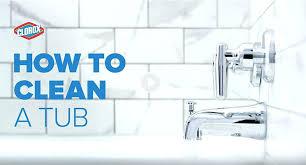 clorox soda how to clean bathtub how to clean a bathtub shower cleaning bathtub with baking