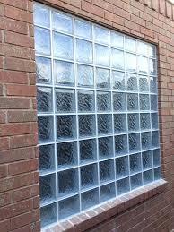 glass block window square glass block windows in glass block window installation cost
