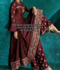 Designer Palazzo Pants Online India Mdb 11831 Palazzo Pant Suits Online
