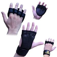 Hand Wrap Gloves Amazoncom Crossfit Weightlifting Gloves 1 Pair With Wrist