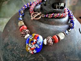 Image result for wild bead necklace images