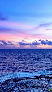 Blue Sea Wallpaper 4K
