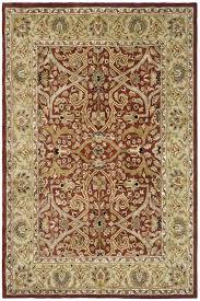 safavieh heritage red gold oriental rug hg644b