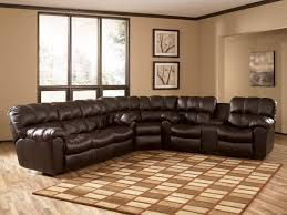 lovable reclining leather sectional sofa recliner sectional sofa