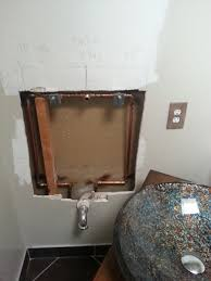 pictures attached do i need to install a shutoff valve on wall mounted sink pictures attached