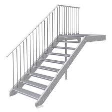 Höhen von 99,5 bis 120 cm. Aussentreppen Planung Mit Handwerkertipps Abstimmen Und Berechnen Treppen Bausatz Do It Yourself